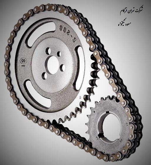 زنجیر صنعتی دوردیفه (دوبل) شماره 72B